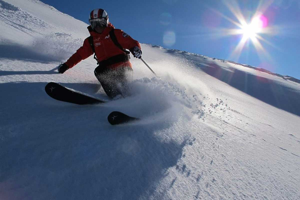 Bewegung an der frischen Luft ist auch im Winter gesund