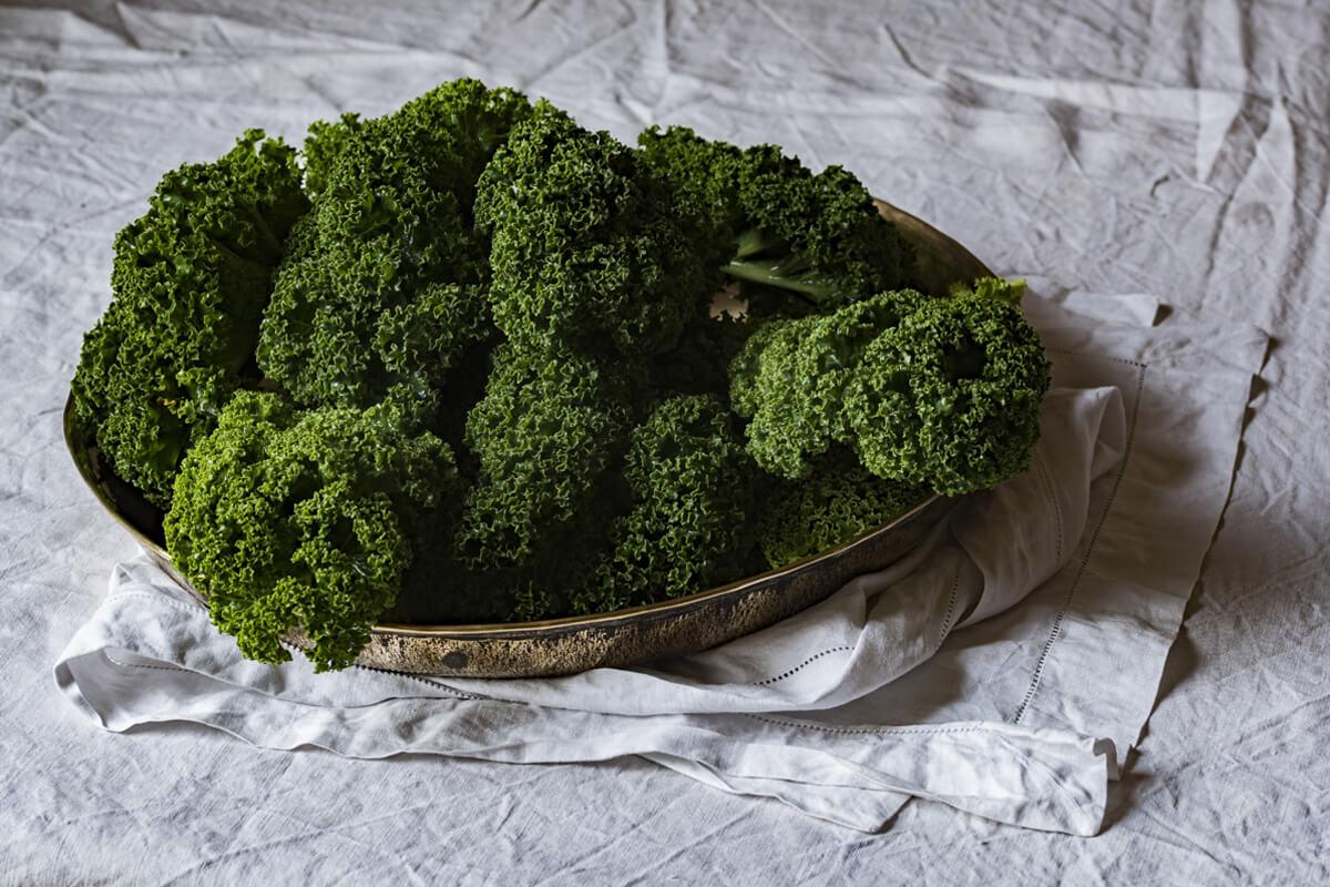 Grünes Gemüse ist eine gute Quelle für Vitamin K