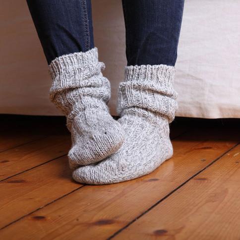 Warme Socken bei Harnwegsinfekt