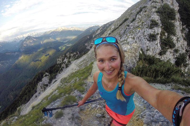 Bergsteigen und Trailrunning sind Johannas große Leidenschaften.