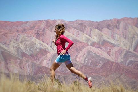 Alexandra ist die Gewinnerin des Trailrunnin-Camps-