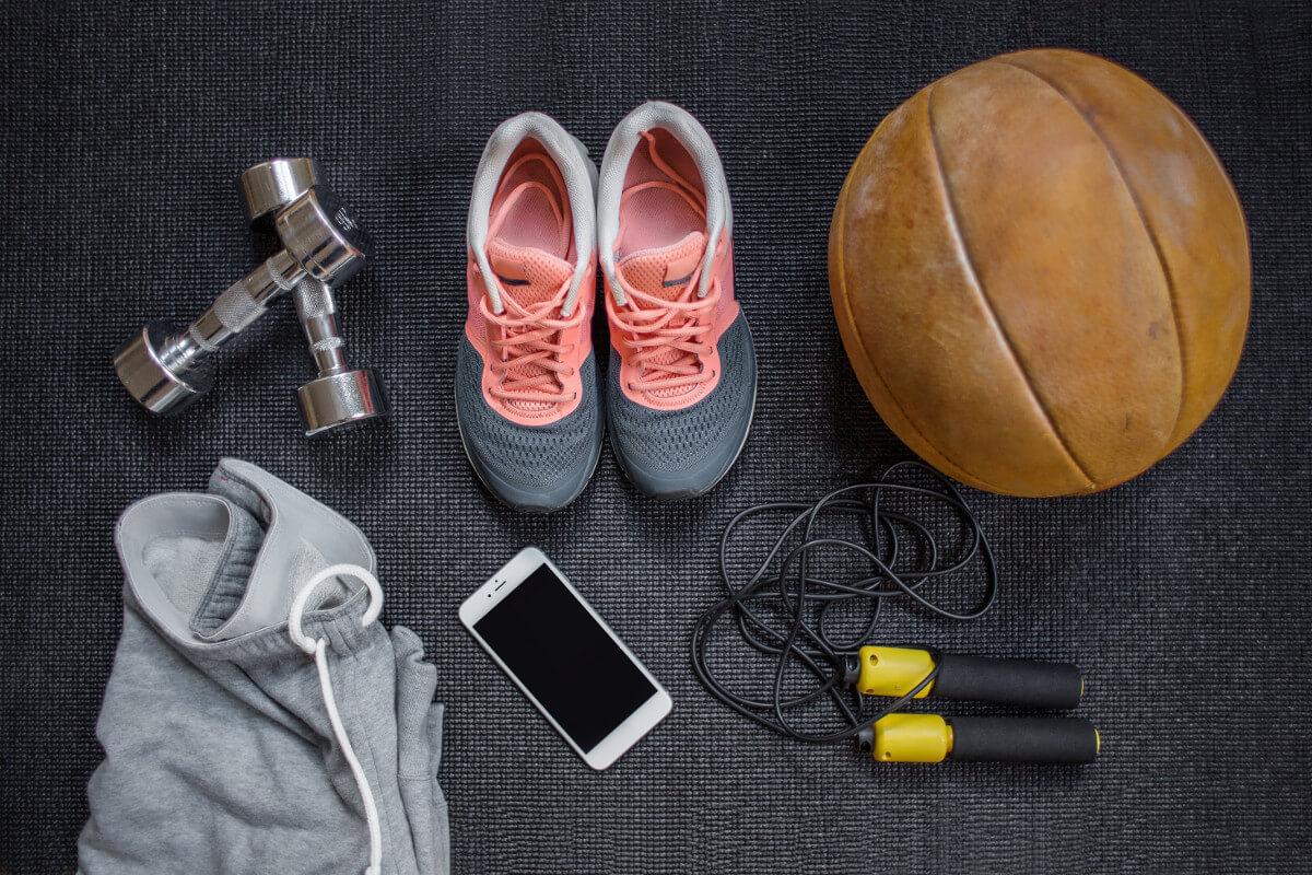 Die richtige Ausrüstung beim Sport ist wichtig