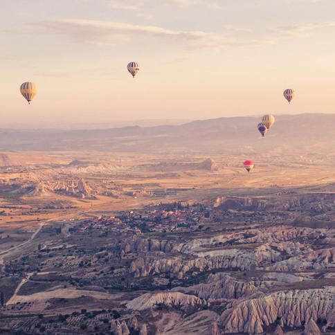 Im Land der Träume - Ballonfahren