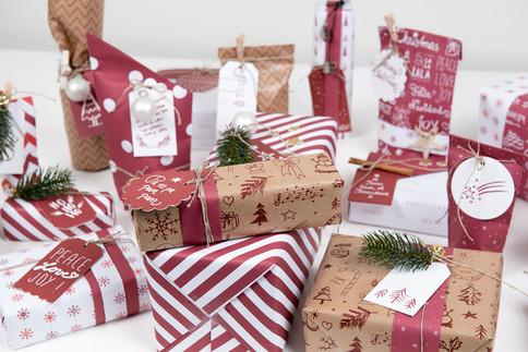 Geschenke eingepackt
