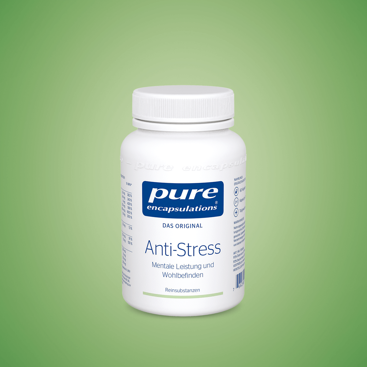 Anti Stress Produkt von Pure Encapsulations