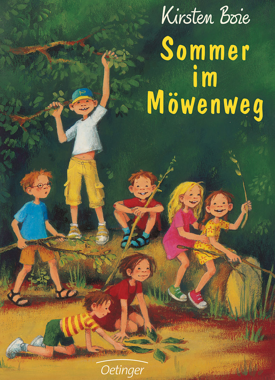 Buchcover Sommer im Möwenweg von Kirsten Boie