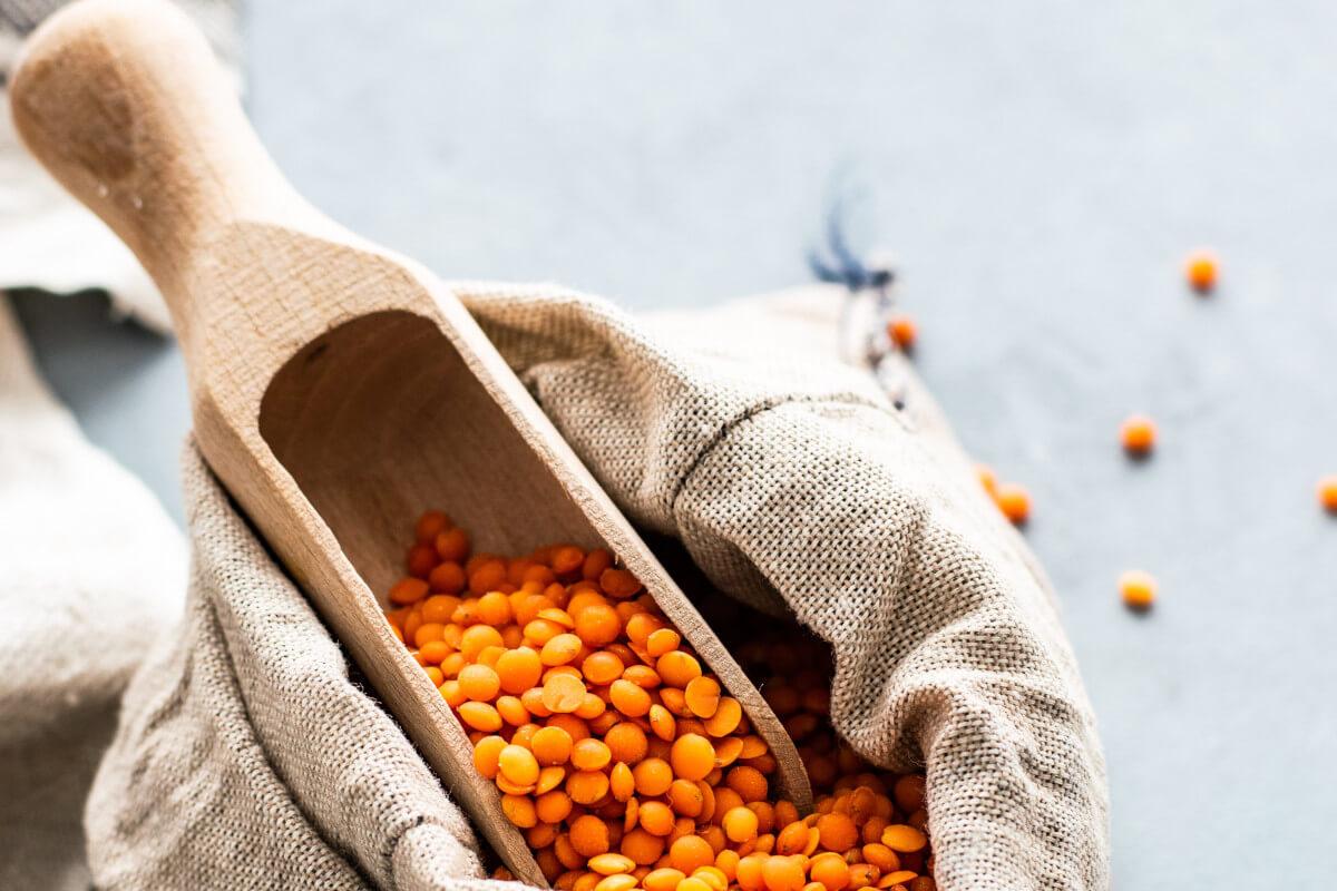 Linsen enthalten B-Vitamine