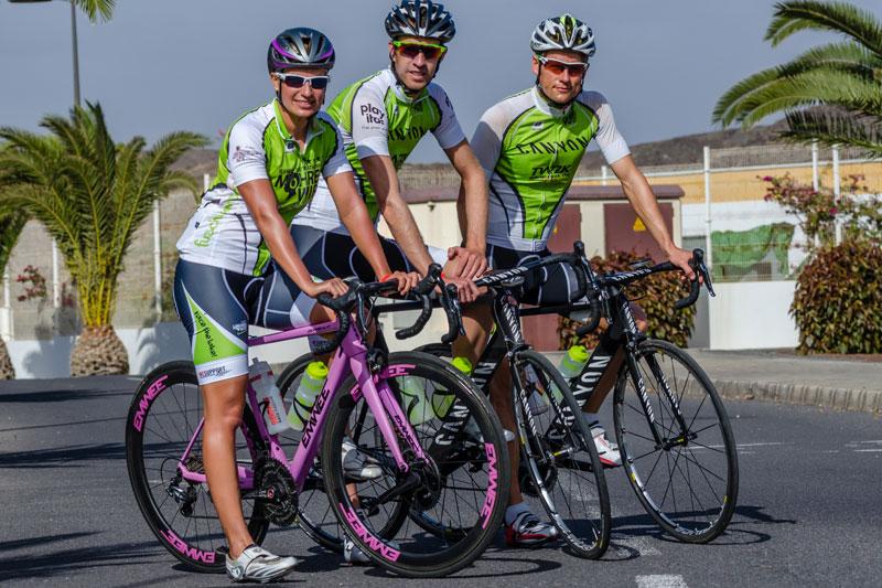 Das Pro Team Mohrenwirt bereitet sich mit intensiven Rad-Trainingseinheiten auf die internationalen Wettbewerbe vor.