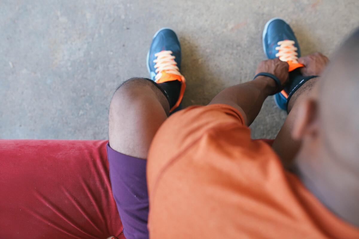 Schon früh am Morgen sportlich aktiv zu sein, kann man sich angewöhnen