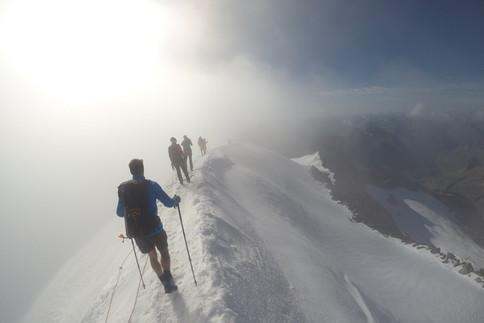 Bergsteigen auf der Venedigergruppe