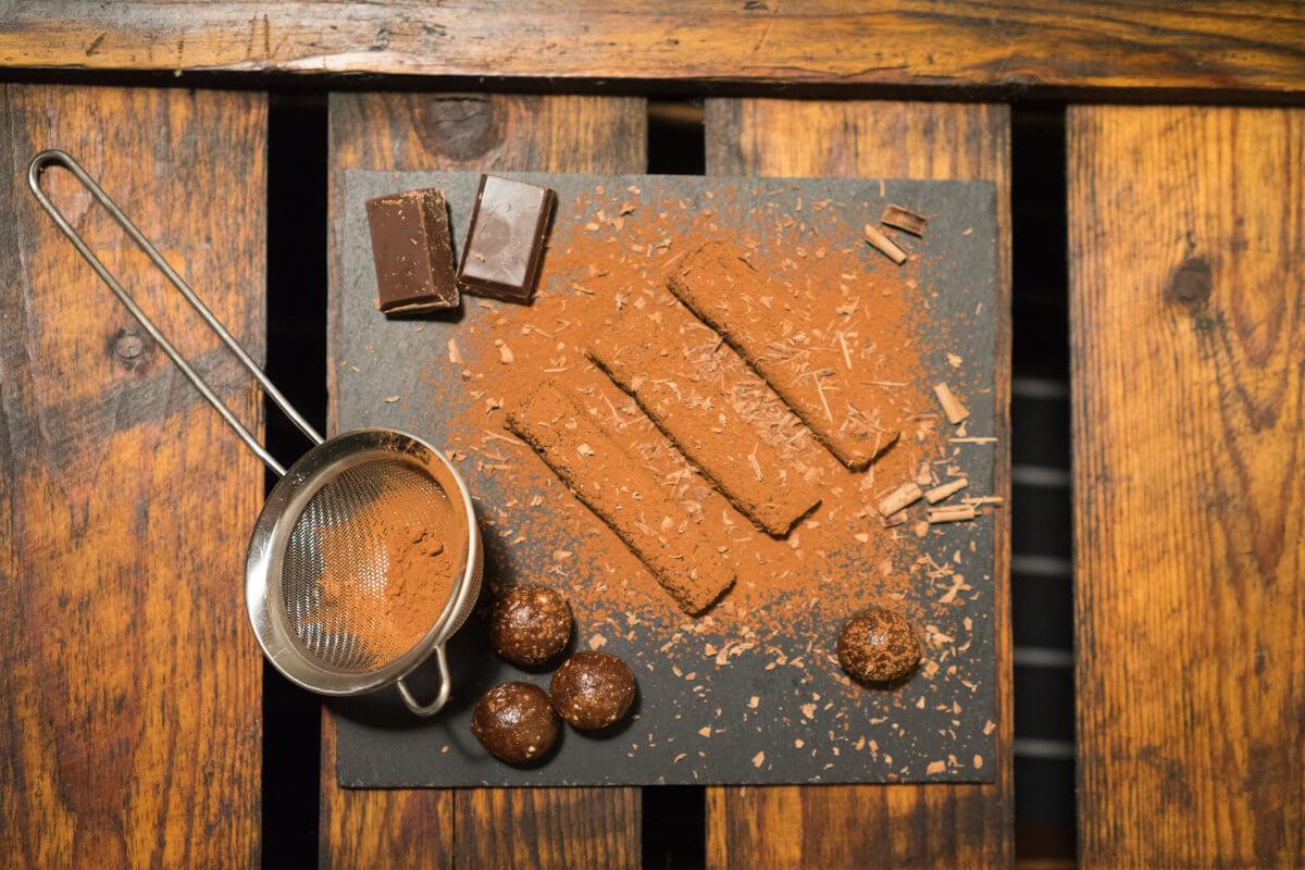 Der rohe Kakao ist besonders reich an Magnesium
