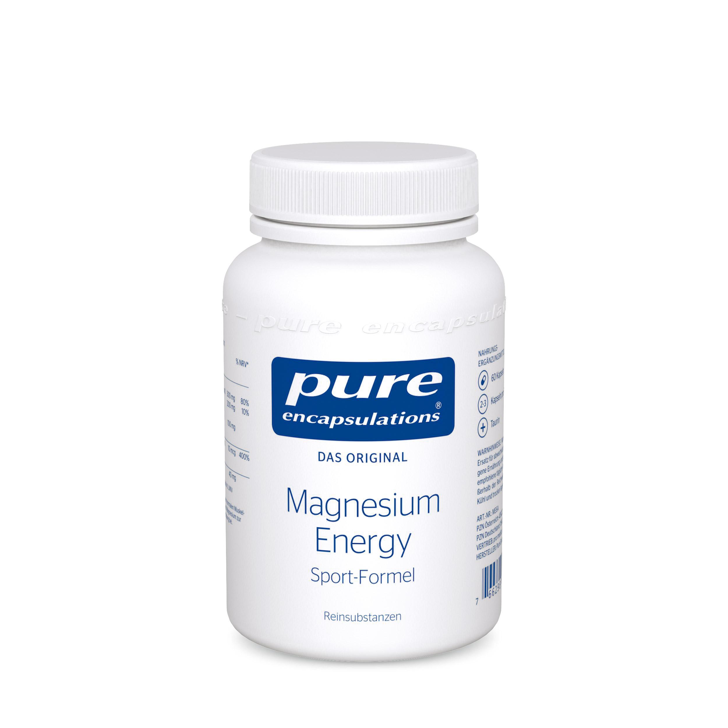 Für die Muskeln und wenn Sportler wieder ein Extra an Energie und Magnesium benötigen.