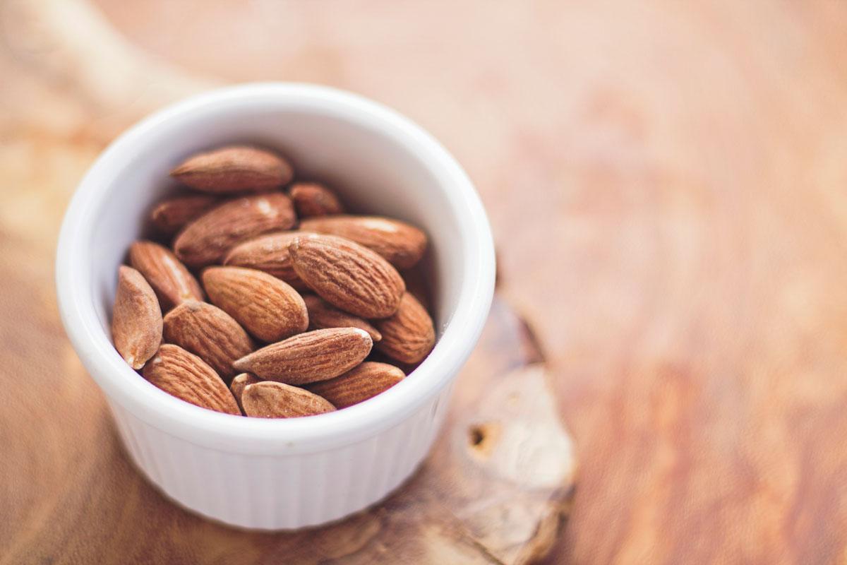 Magnesium der Energie Booster: Mandeln sind gute Magnesiumlieferanten