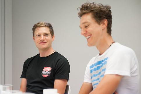 Im Interview spricht das Mountainbike-Duo über den bevorstehenden Craft BIKE Transalp am Gardasee.