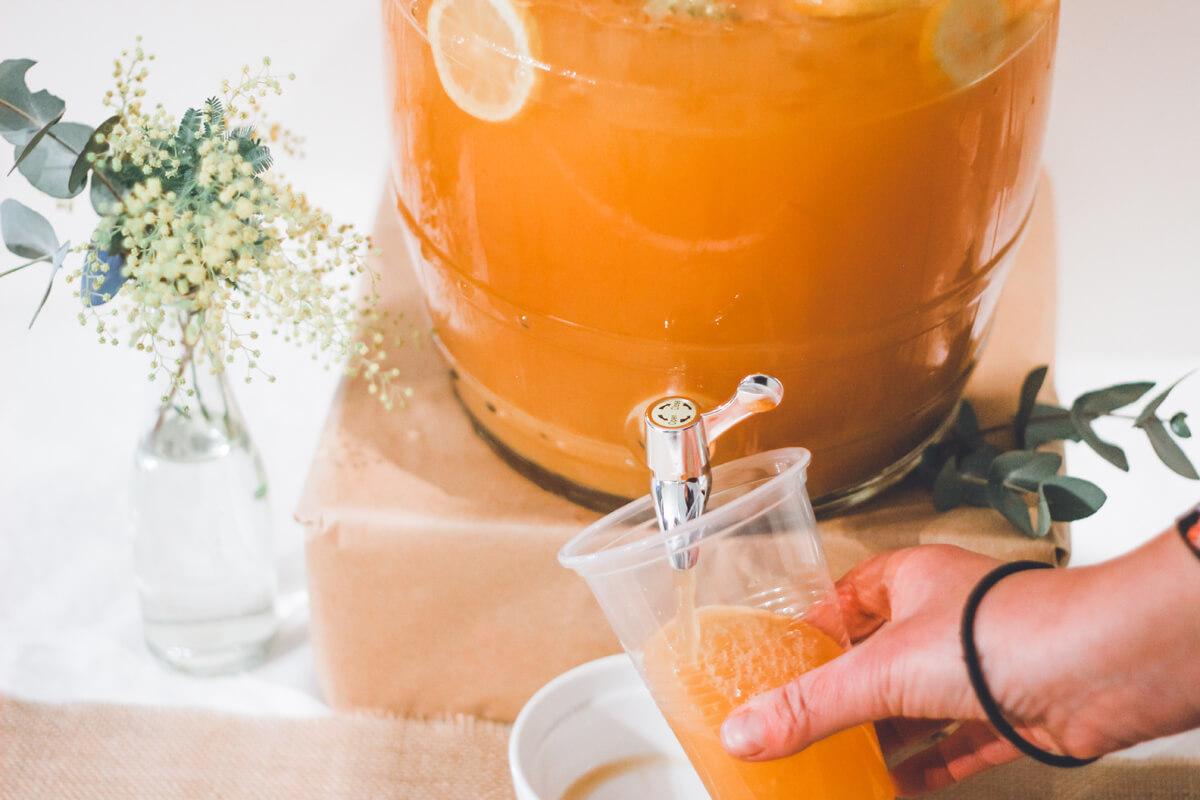 Orangensaft kann dank Vitamin C die Eisenaufnahme begünstigen